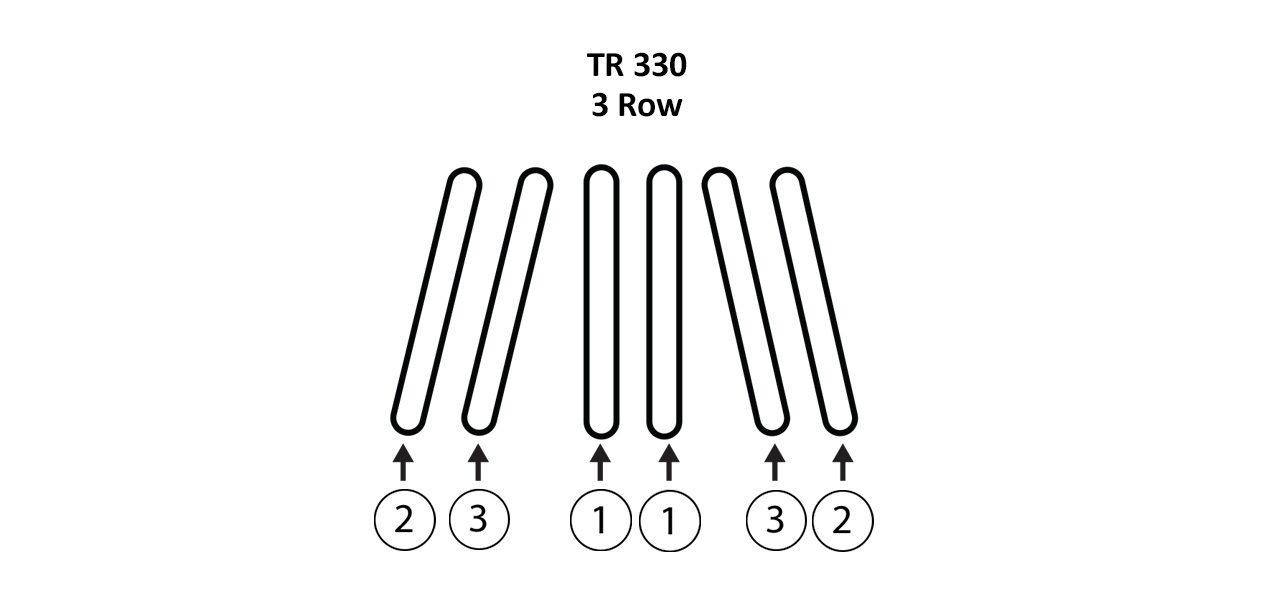 TR 330 3 Row Gathering Belts