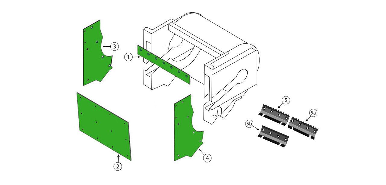 V8 v12 Accelerator Housing Assembly