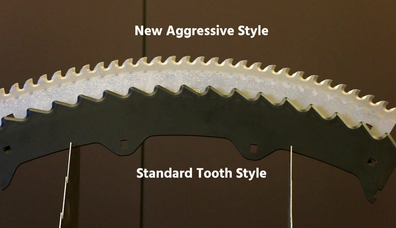 Aggressive Knives and Standard Knife